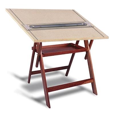 Mesa Para Desenho Com Régua Paralela