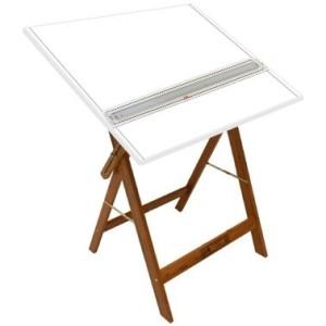 Mesa De Desenho Com Régua Paralela Trident 4830 BP-80